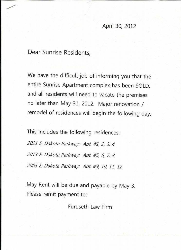 Sample Intent To Vacate Letter Template. Notice Of Lease .
