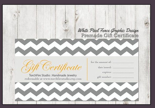10+ Gift certificate templates - Word Excel PDF Formats