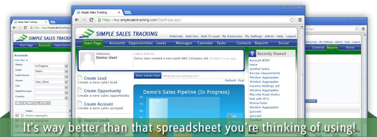 Simple Sales Tracking Pricing, Features, Reviews & Comparison of ...