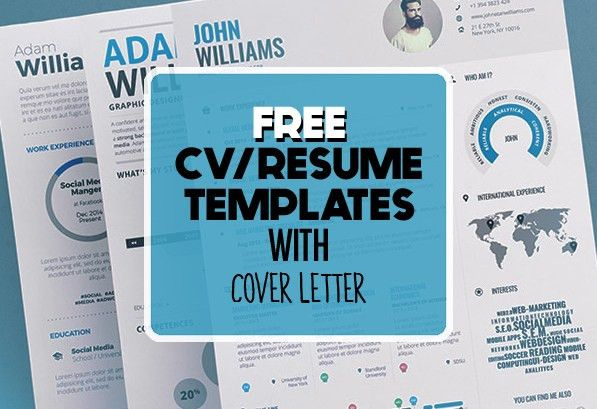 17 Free Clean Modern CV / Resume Templates (PSD) | Freebies ...