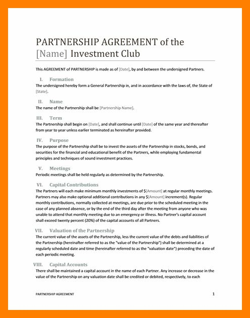 7+ business partnership contract | article examples