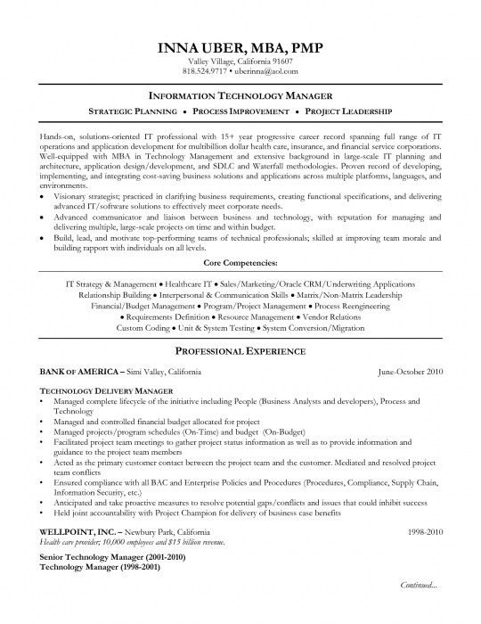 health information management resume health information