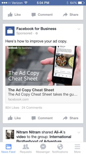 Image Ads Archives - Page 21 of 32 - Facebook Ad Examples