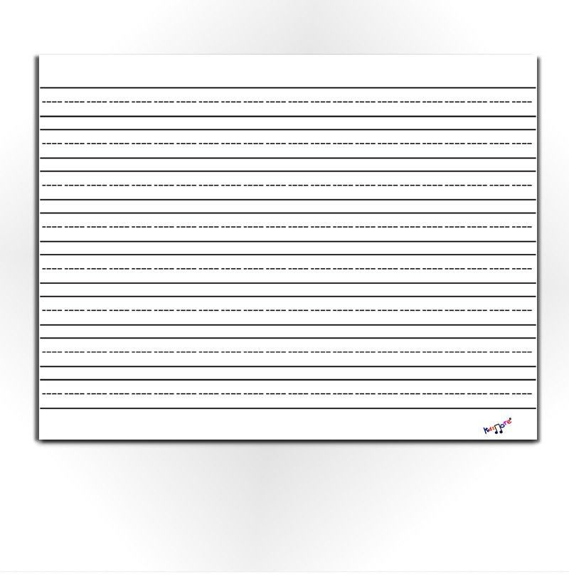 Lined Writing Paper Preschool Kindergarten Homeschool