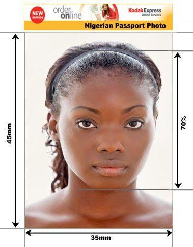 Nigerian Passport and Visa Photos