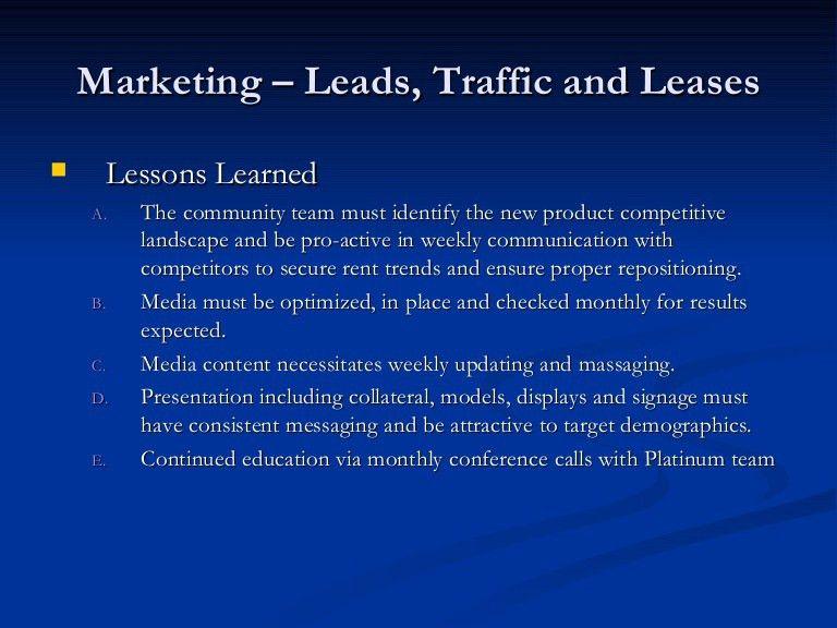 Quarterly Marketing Report
