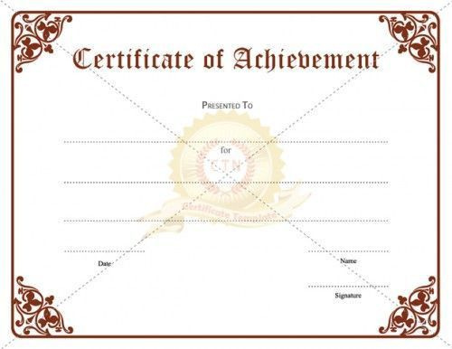 The 25+ best Certificate of achievement template ideas on ...