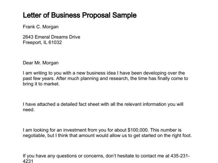 Simple Proposal Template Sample Proposal  Documents In Pdf Word