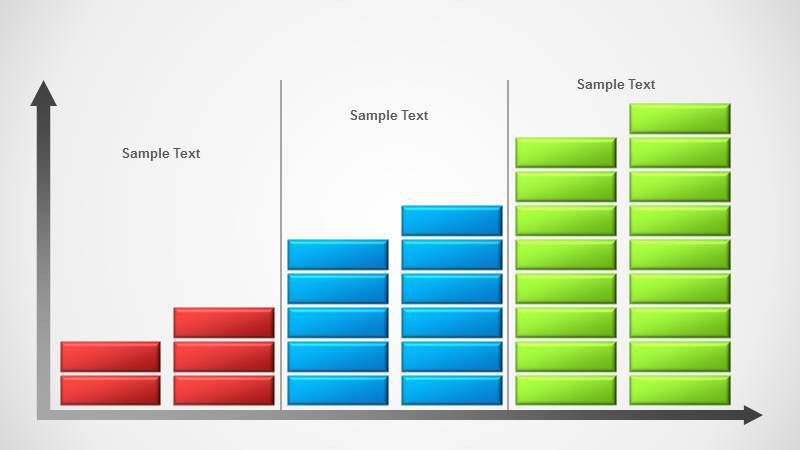 Concept Bar Chart Template for PowerPoint - SlideModel