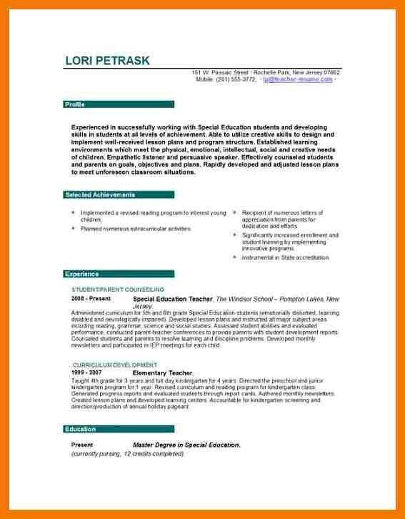 9+ biodata for teacher job | mailroom clerk