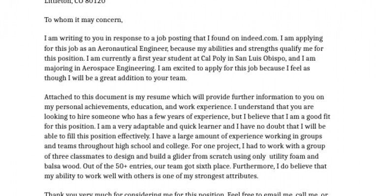 Example Of Cover Letter In Portfolio | Professional resumes sample ...
