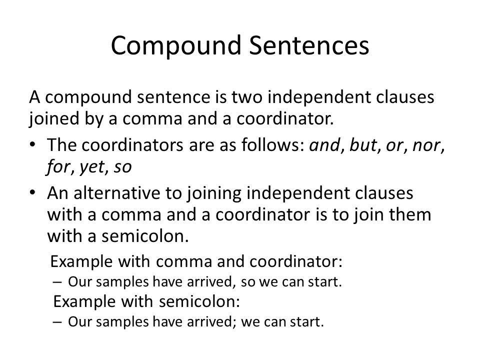 2. Sentence and Clause Combining - ppt download