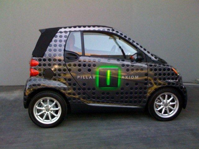 smartcar #vehiclewrap #citrustheme car wrap Mammoth Printing ...