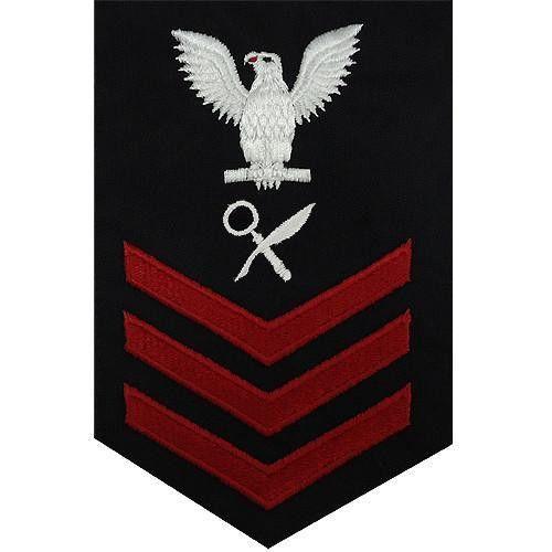 Navy E-4/5/6 Intelligence Specialist Rating Badge | USAMM