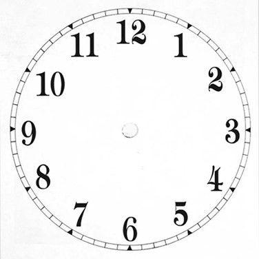 blank clock printable - Szukaj w Google | ZEGARY | Pinterest ...