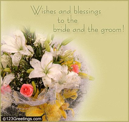 Wedding Floral Wish. Free Flowers & Gifts eCards, Greeting Cards ...
