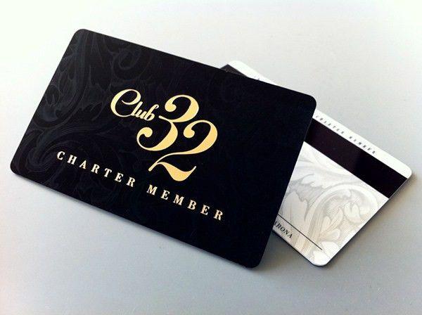 Club 32 Card Design on Behance