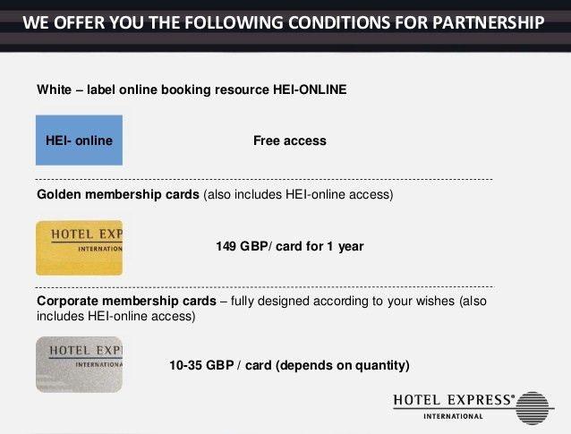 Hotel Express International UK Loyalty Programs