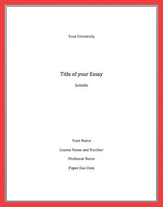 Apa Title Page Template. perrla for apa. essay format apa academic ...