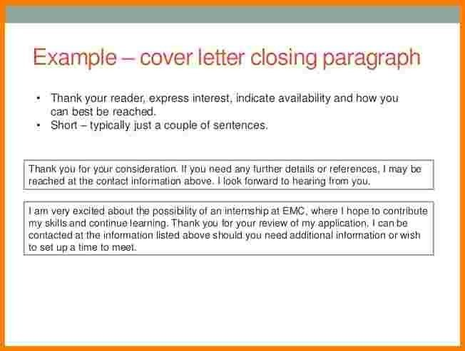 8+ closing statement example letter | Case Statement 2017