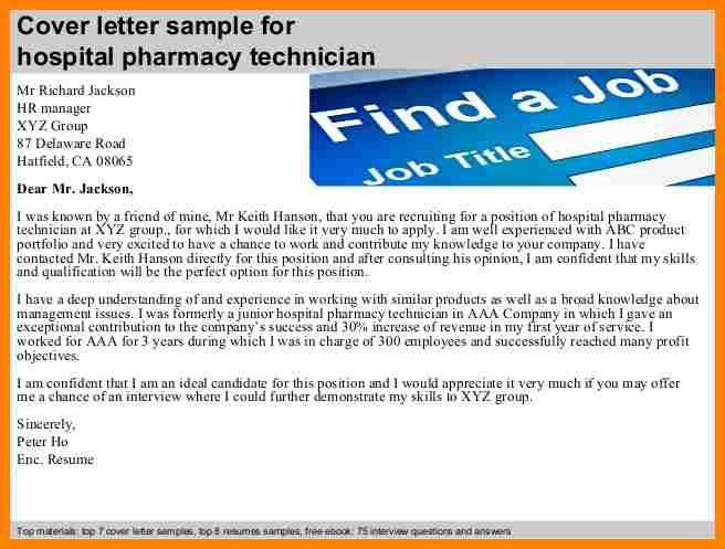 6+ pharmacy technician cover letter samples | farmer resume