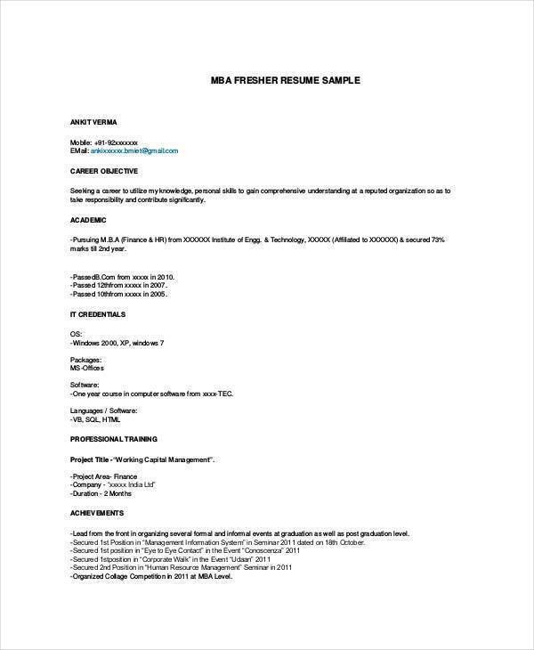 Download Resume File Format | haadyaooverbayresort.com