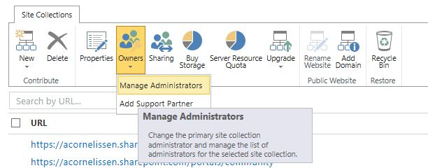 SharePoint Online user policy
