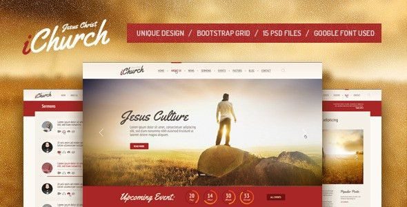 Jesus Templates from ThemeForest