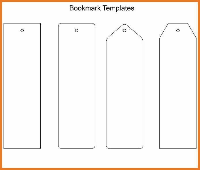 bookmark template free