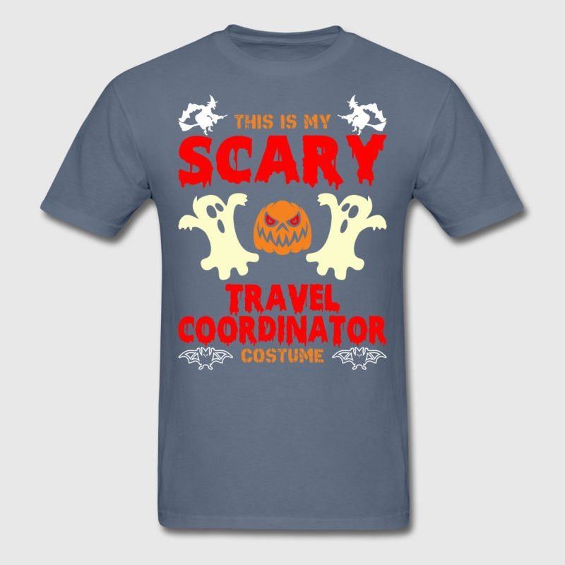 This is My Scary Travel Coordinator Costume T-Shirt | Spreadshirt