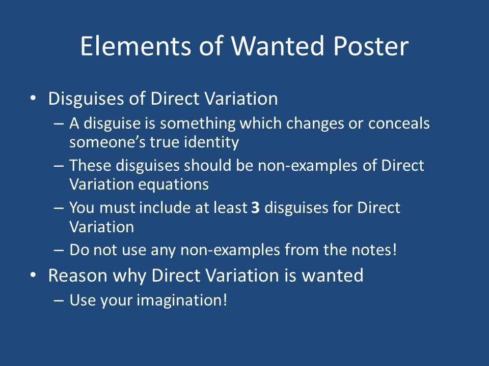 Wanted: Dead or Alive. - ppt video online download