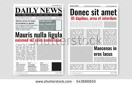 Free Old Newspaper Vector - Download Free Vector Art, Stock ...