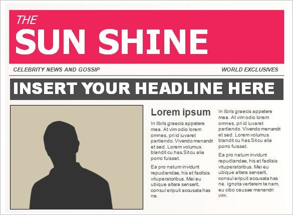 15+ Powerpoint Newspaper Templates – Free Sample, Example, Format ...