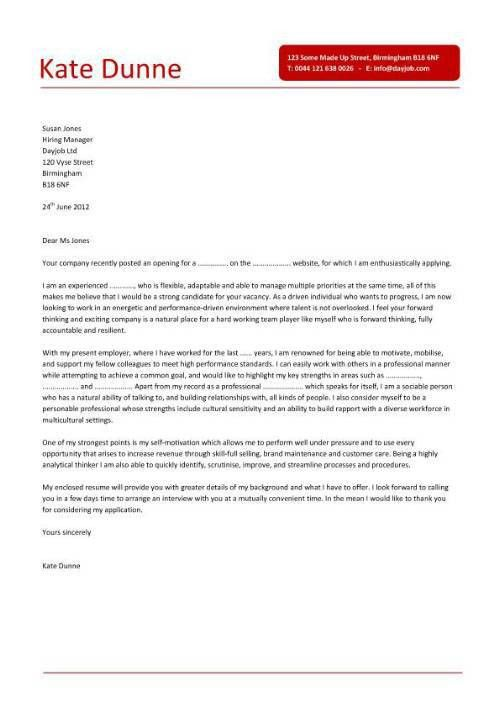 good covering letter example uk. cover letter examples for jobs uk ...