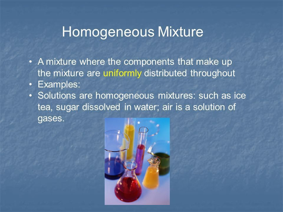 Solutions. What is a solution? A homogeneous mixture A homogeneous ...