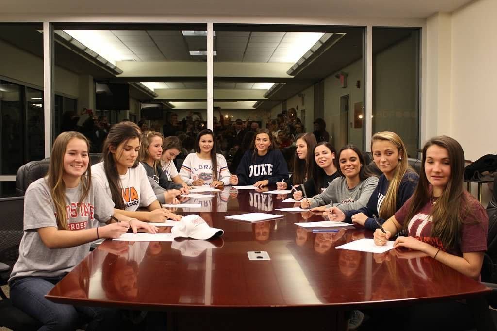 A Dozen Grizzlies Lacrosse Players Sign National Letters of Intent ...