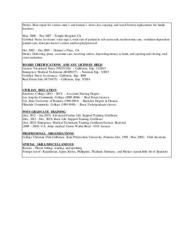 Download Lvn Resume | haadyaooverbayresort.com