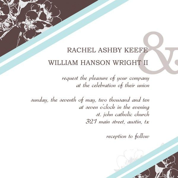 Wedding Invitation Design Templates – Design Your Own Invitations