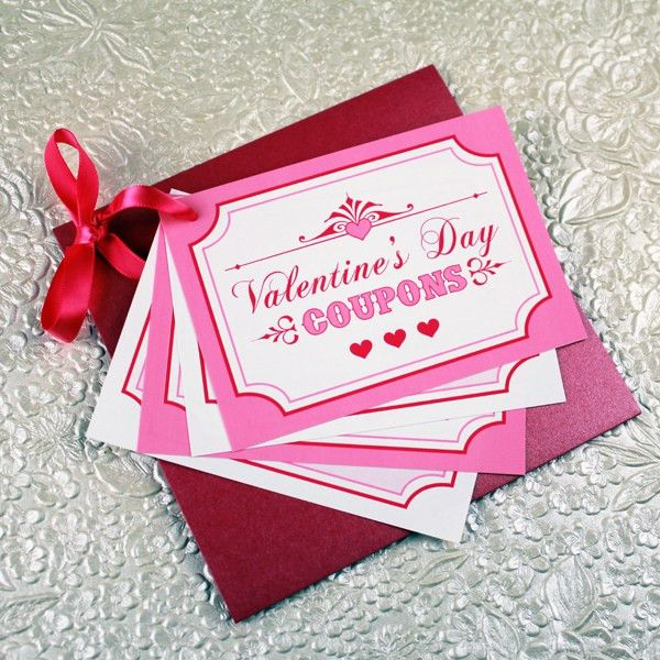 Valentine's Day Coupon Book Template – Download & Print