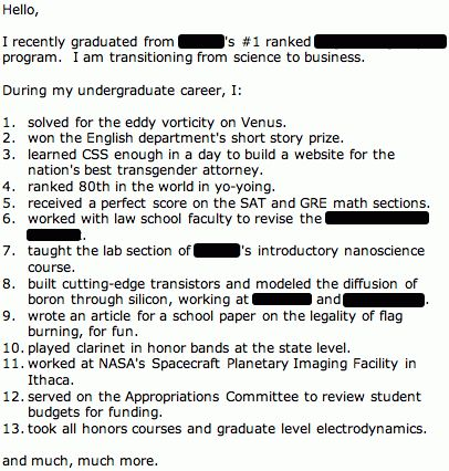 funny cover letters examples