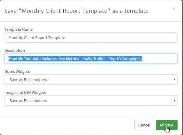 Monthly Marketing Report Template. what makes a good marketing ...