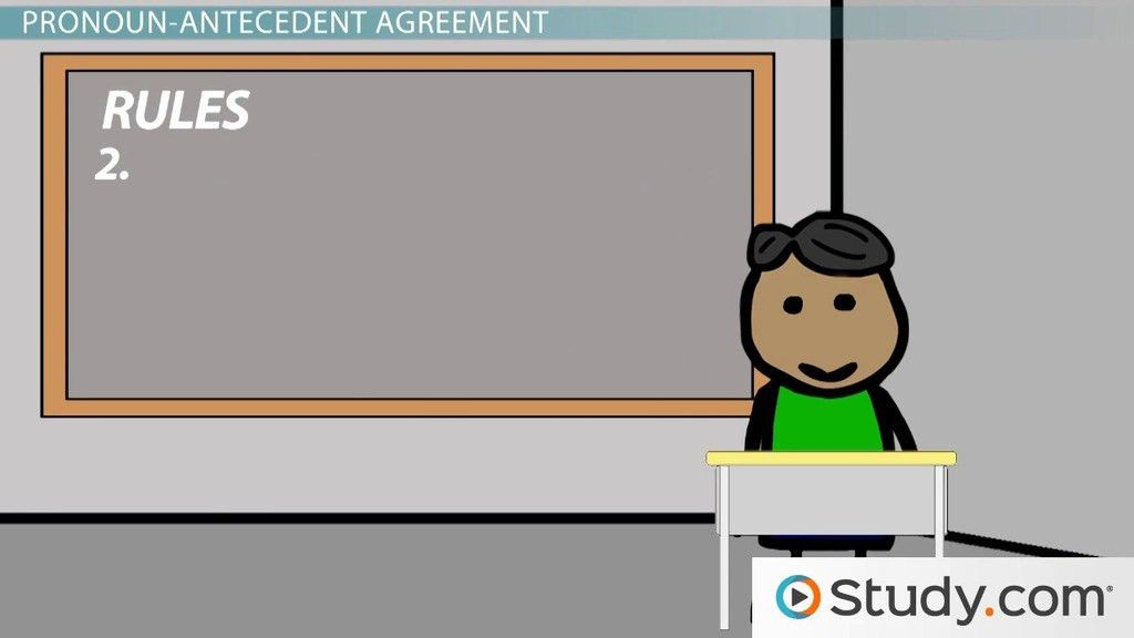 What is an Antecedent? - Definition, Meaning & Examples - Video ...