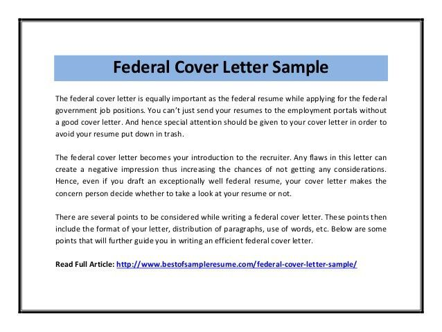federal government cover letter linux engineer sample resume - Federal Resume Cover Letter