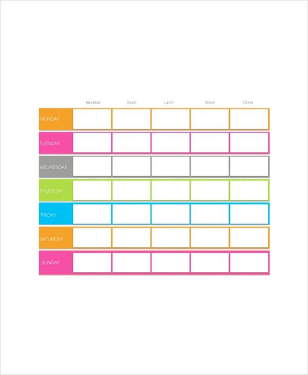 6+ Cute Daily Planner Templates - Free Sample, Example, Format ...