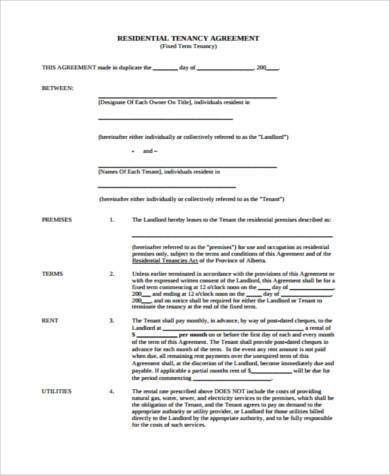 8+ House Agreement Form Samples - Free Sample, Example Format Download