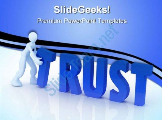 Trust Concept Business PowerPoint Templates And PowerPoint ...