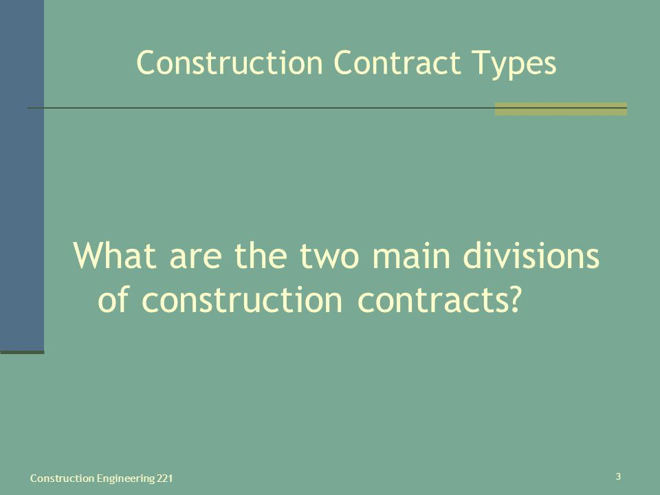 Construction Engineering ppt download