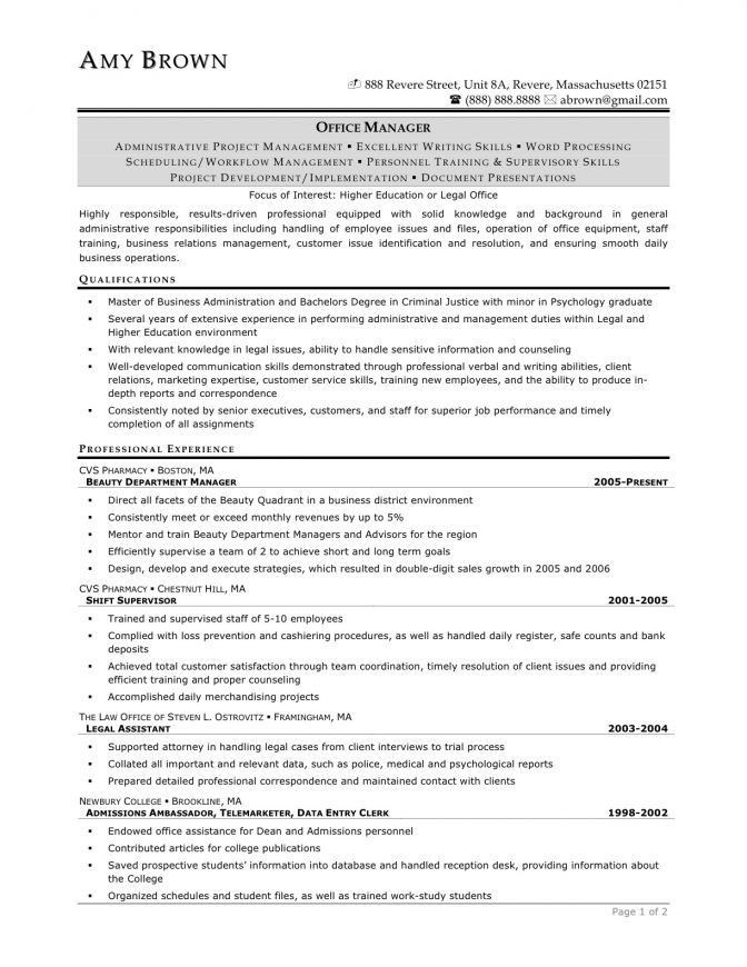 Homely Ideas Paralegal Resume Sample 6 17 Best Images About Resume ...