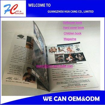 Custom Coupon Book Printing Glue Perfect Binding Magazine/journal ...
