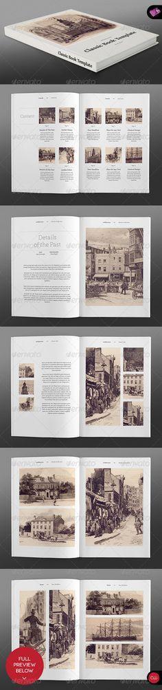Landscape Brochure • Classic Series | Brochure template, Brochures ...